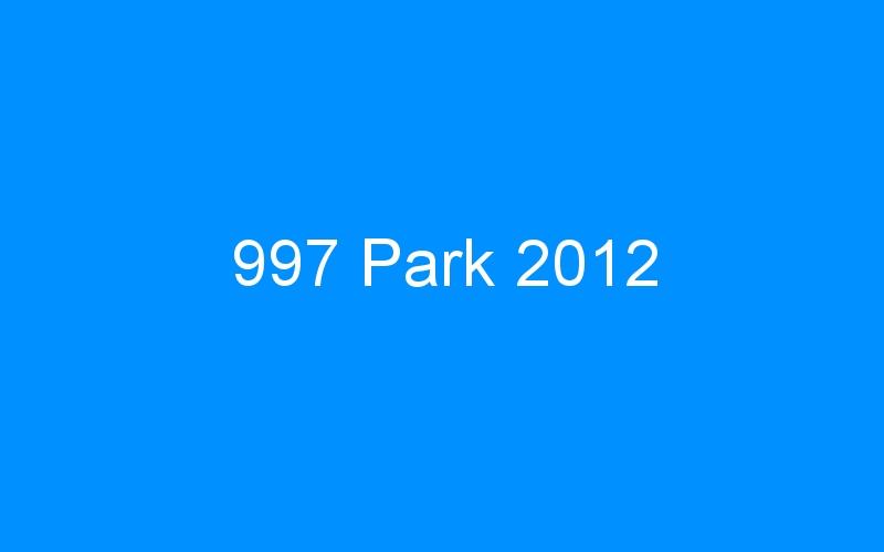 997 Park 2012