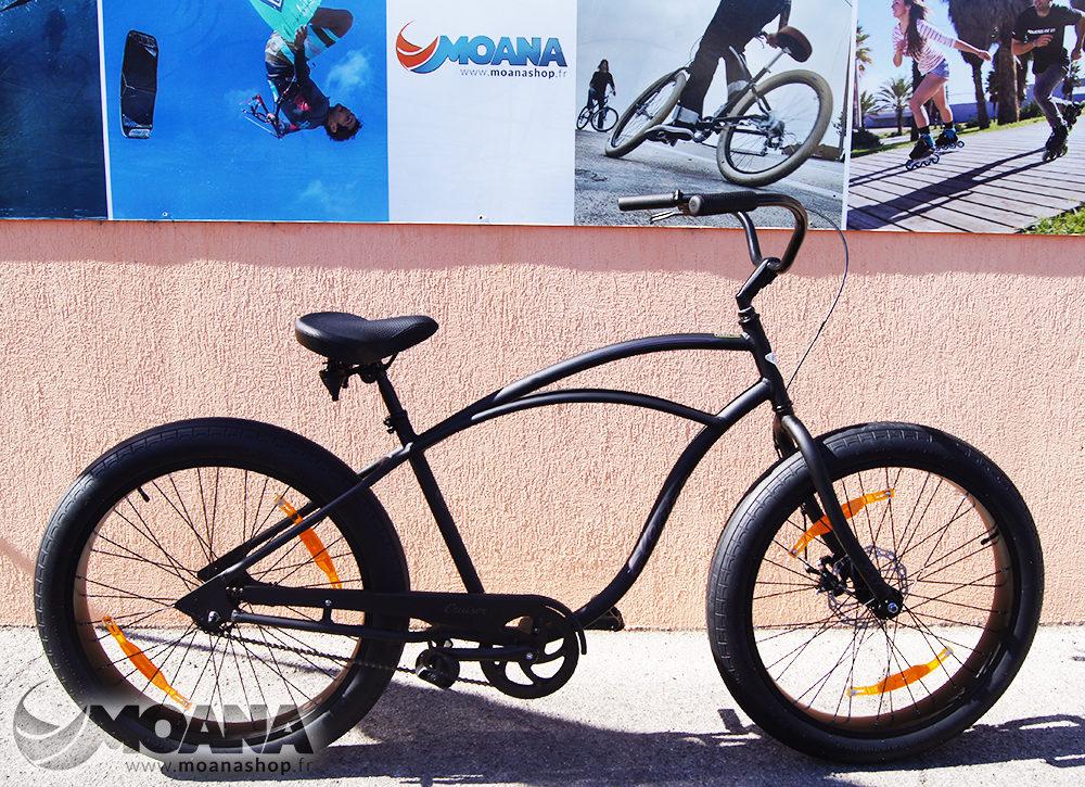 Vélo Electra Fat Bike cruiser Lux : le beach tout terrain