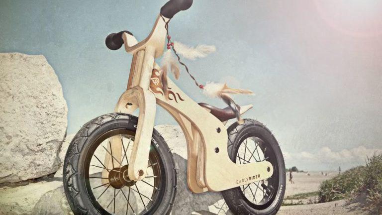 la draisienne : la petite reine du vélo enfant