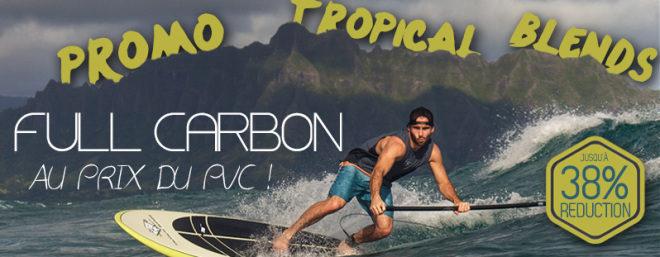 Promo : des stand up paddle Full Carbone au prix du PVC