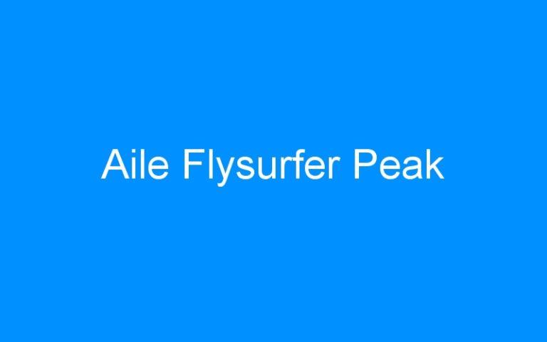 Aile Flysurfer Peak