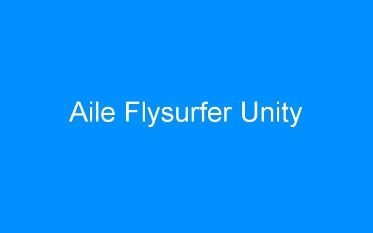 Aile Flysurfer Unity