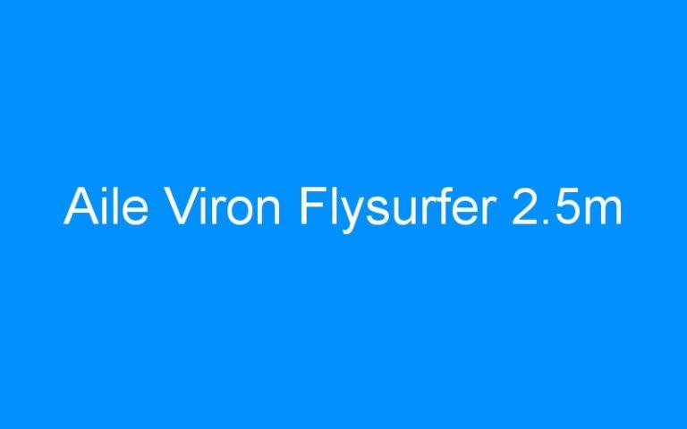 Aile Viron Flysurfer 2.5m