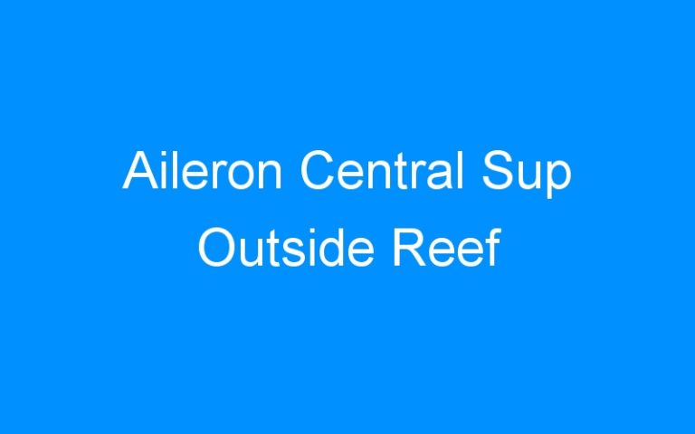 Aileron Central Sup Outside Reef