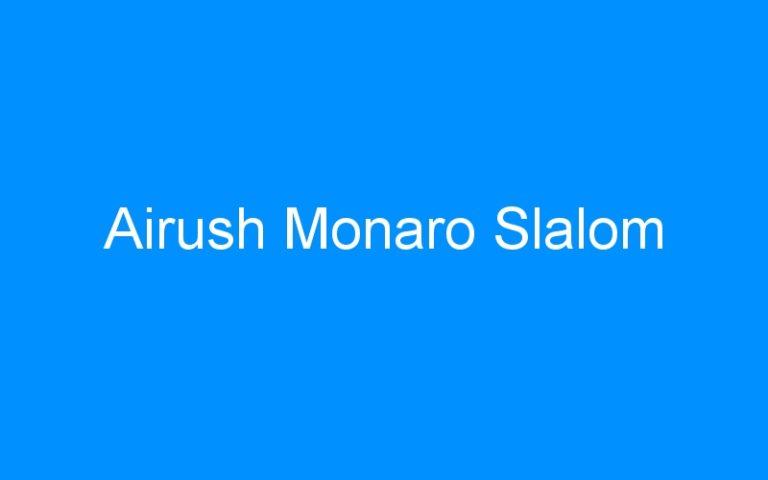 Airush Monaro Slalom