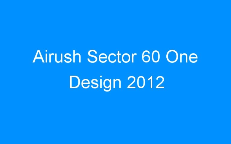Airush Sector 60 One Design 2012