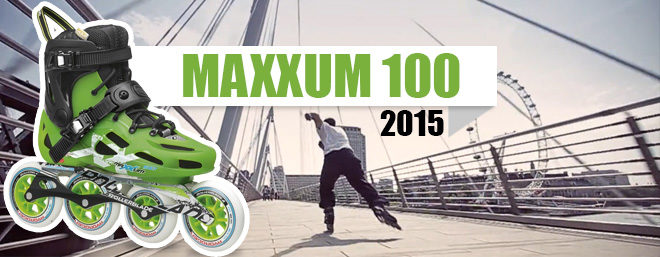 Roller Rollerblade Maxxum 100 2015