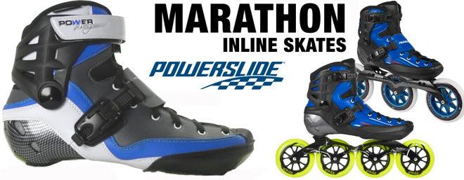 Powerslide Marathon : Le roller randonnée par excellence