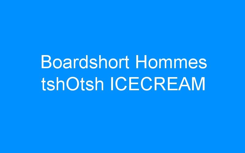 Boardshort Hommes tshOtsh ICECREAM
