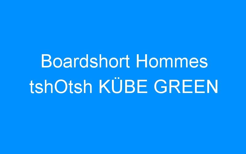 Boardshort Hommes tshOtsh KÜBE GREEN