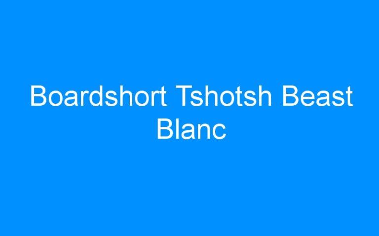 Boardshort Tshotsh Beast Blanc