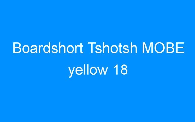Boardshort Tshotsh MOBE yellow 18