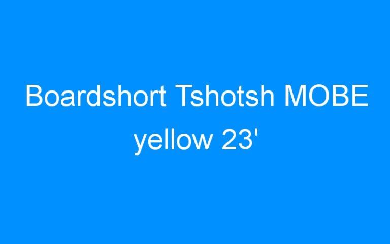 Boardshort Tshotsh MOBE yellow 23′