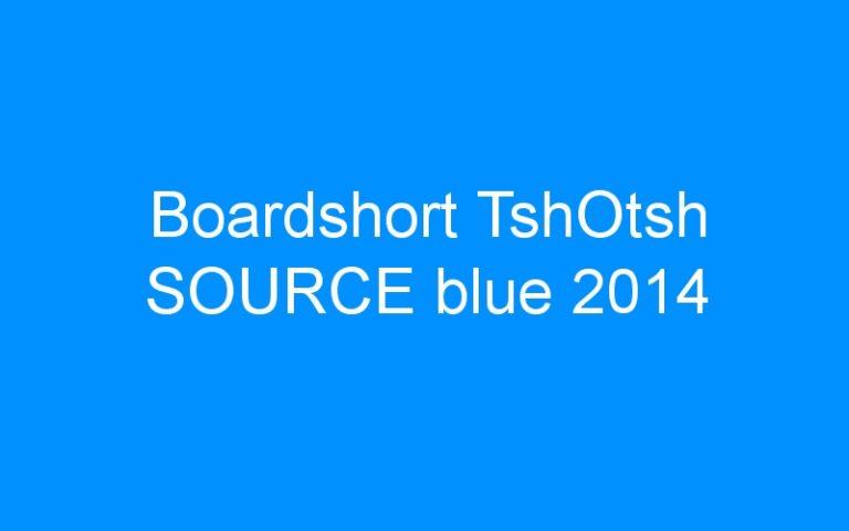 Boardshort TshOtsh SOURCE blue 2014