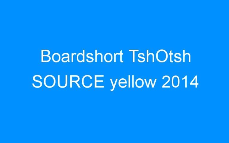 Boardshort TshOtsh SOURCE yellow 2014