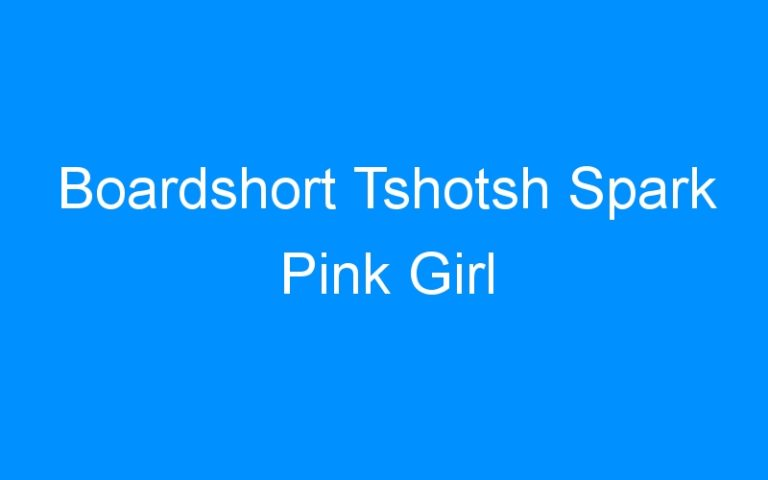 Boardshort Tshotsh Spark Pink Girl