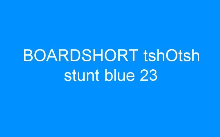 BOARDSHORT tshOtsh stunt blue 23