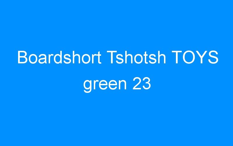 Boardshort Tshotsh TOYS green 23