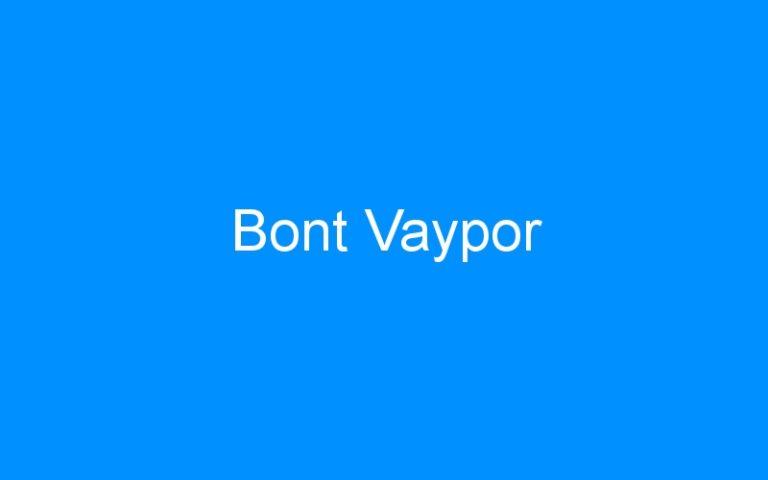 Bont Vaypor