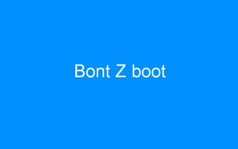 Bont Z boot