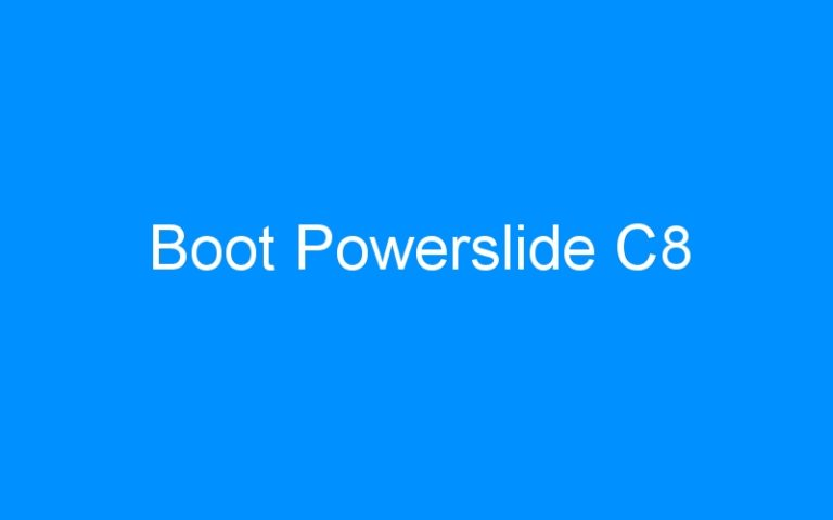 Boot Powerslide C8