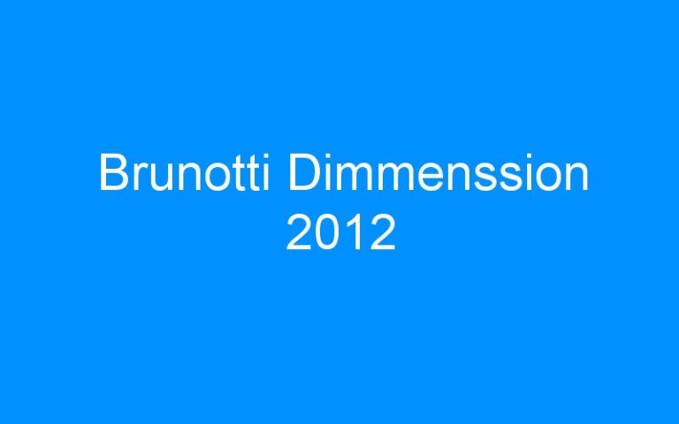 Brunotti Dimmenssion 2012