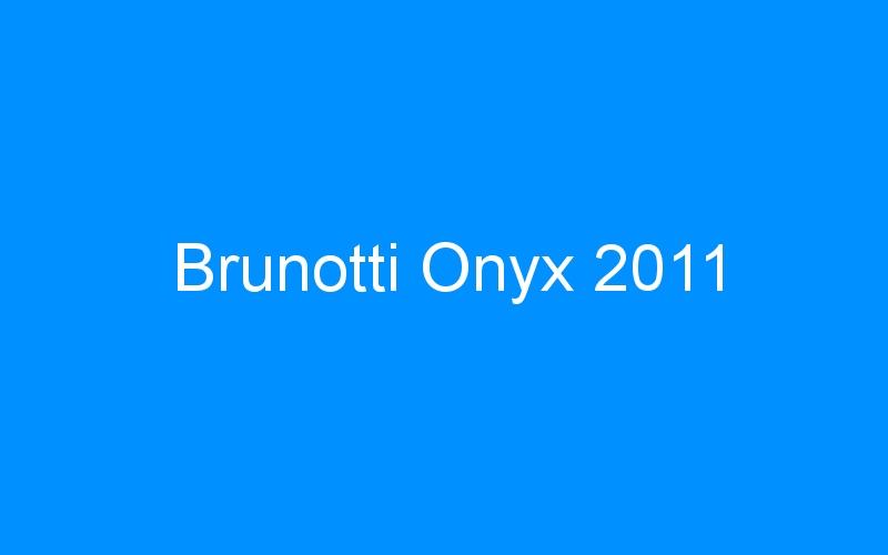 Brunotti Onyx 2011