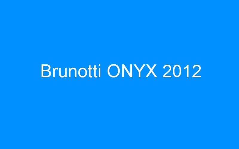 Brunotti ONYX 2012