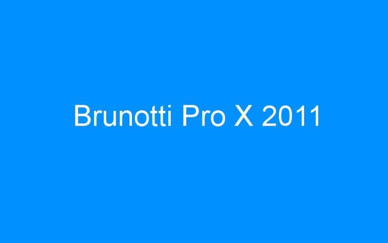 Brunotti Pro X 2011