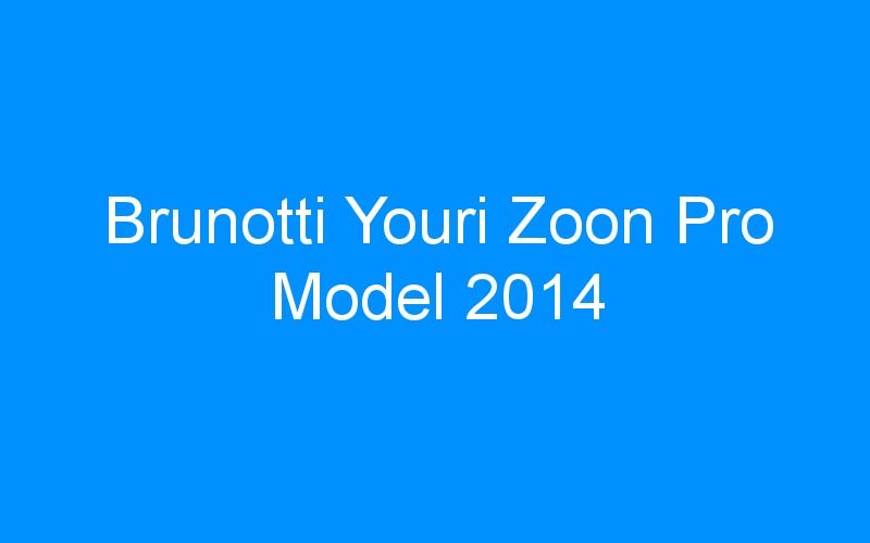 Brunotti Youri Zoon Pro Model 2014