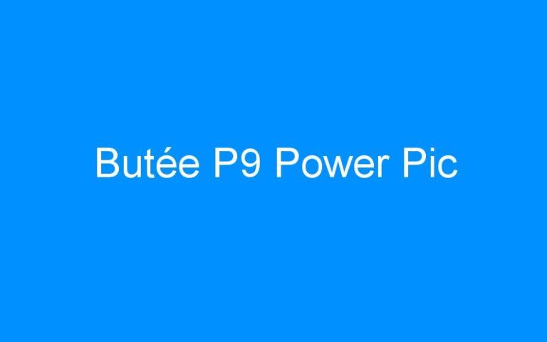Butée P9 Power Pic