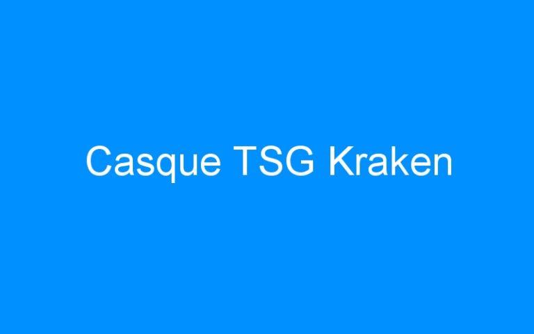 Casque TSG Kraken