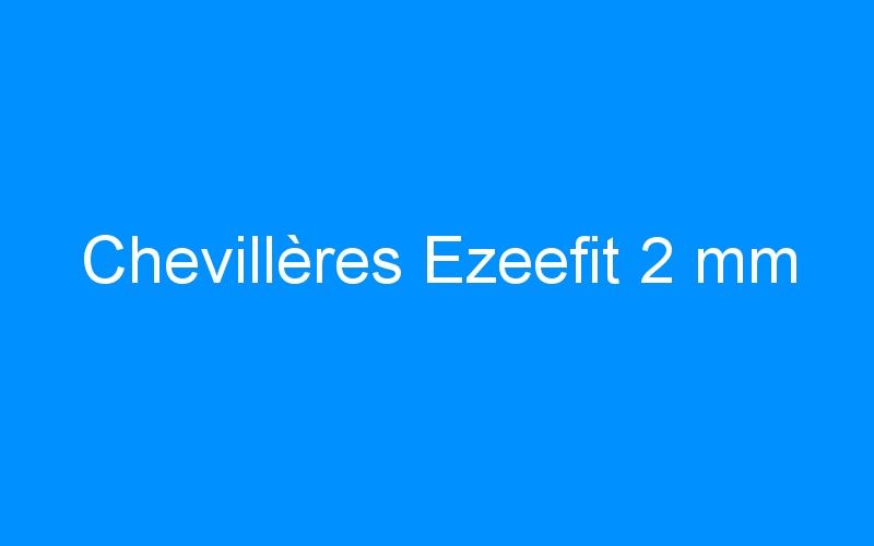 Chevillères Ezeefit 2 mm