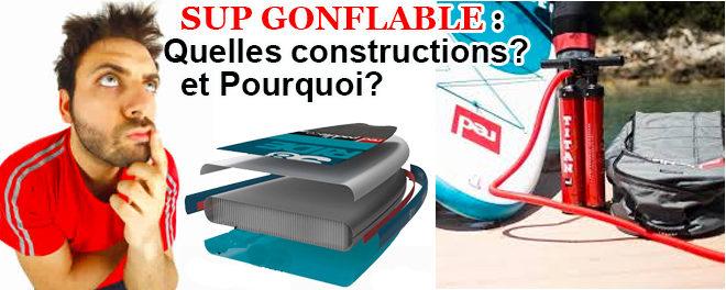 Paddle gonflable, les constructions : description, avis…