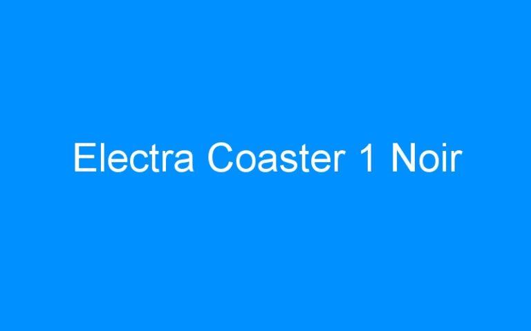 Electra Coaster 1 Noir