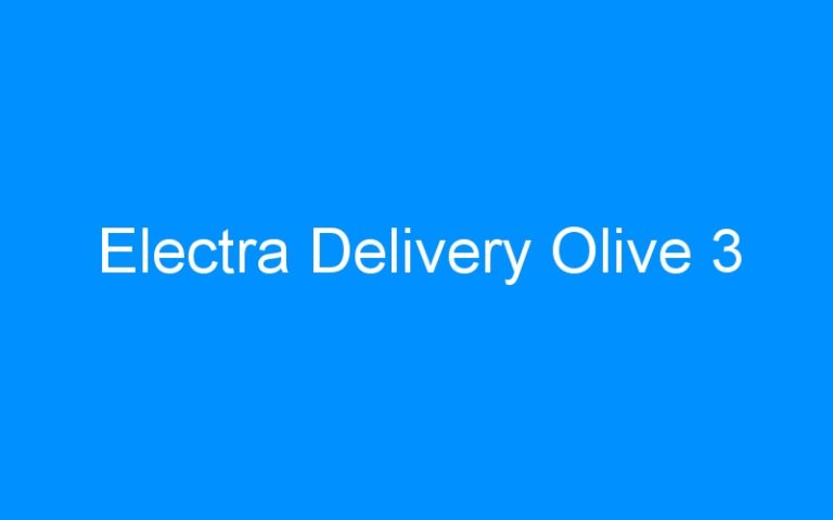 Electra Delivery Olive 3