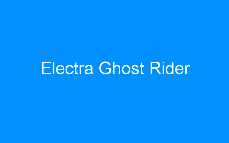Electra Ghost Rider