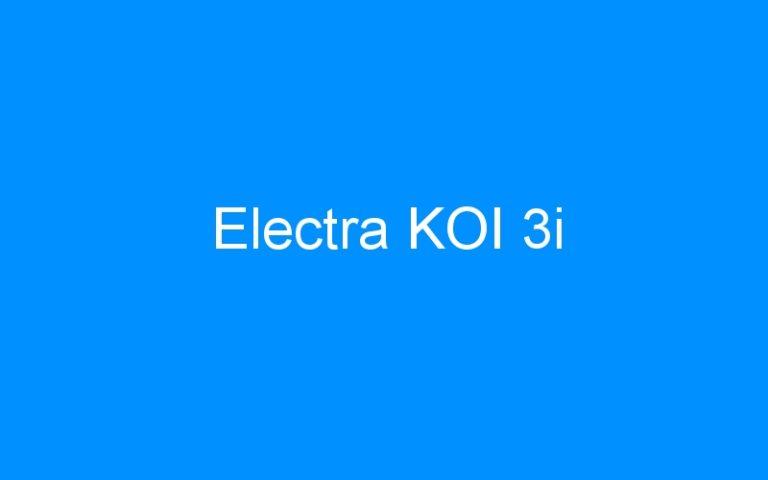 Electra KOI 3i