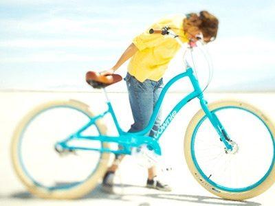 Vélo Electra Townie Balloon 3i ou 7i bleu