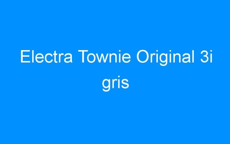 Electra Townie Original 3i gris