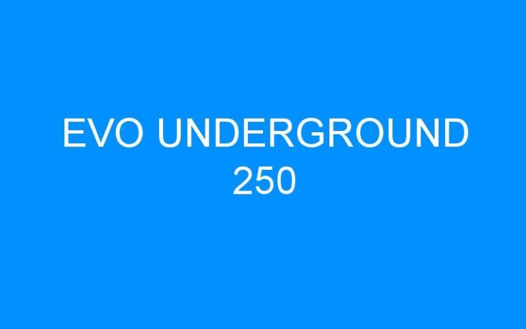 EVO UNDERGROUND 250
