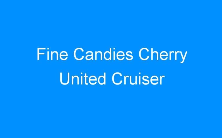 Fine Candies Cherry United Cruiser