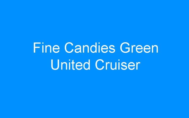 Fine Candies Green United Cruiser