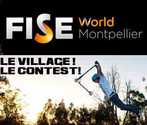 Village trottinette et contest au FISE 2014