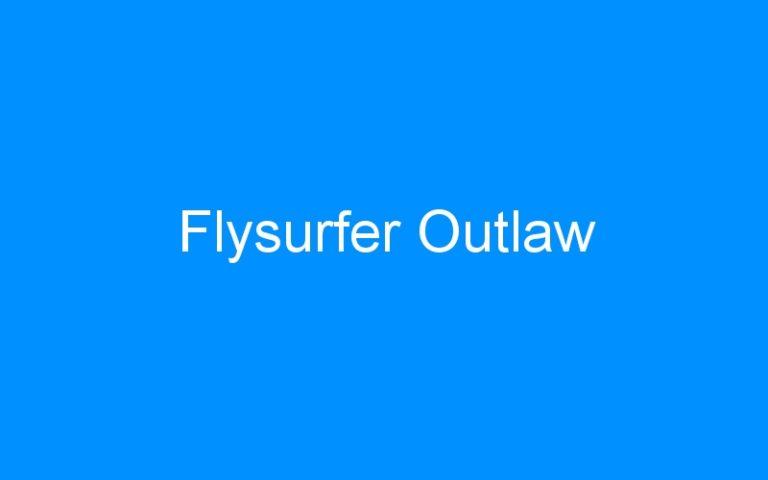 Flysurfer Outlaw
