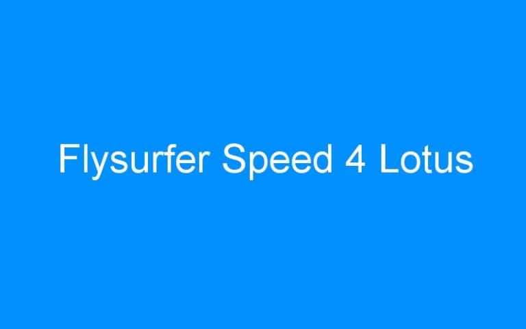 Flysurfer Speed 4 Lotus