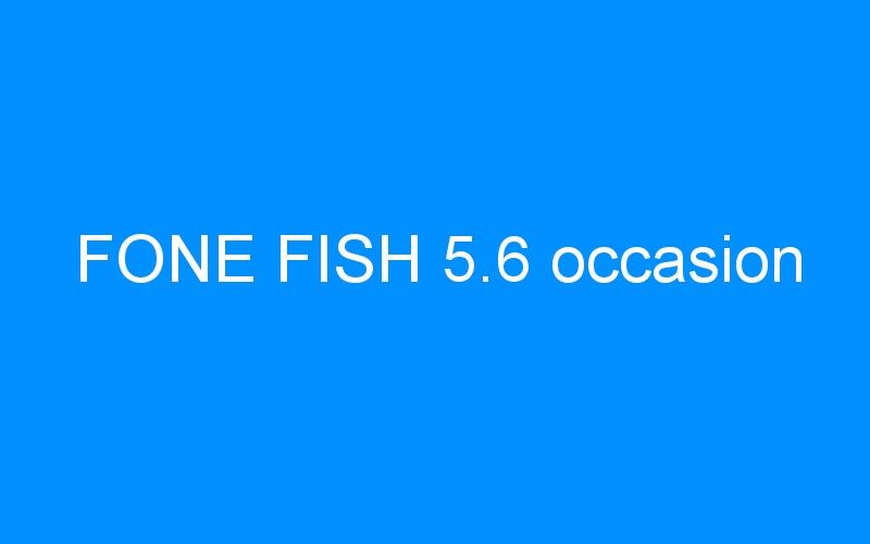 FONE FISH 5.6 occasion