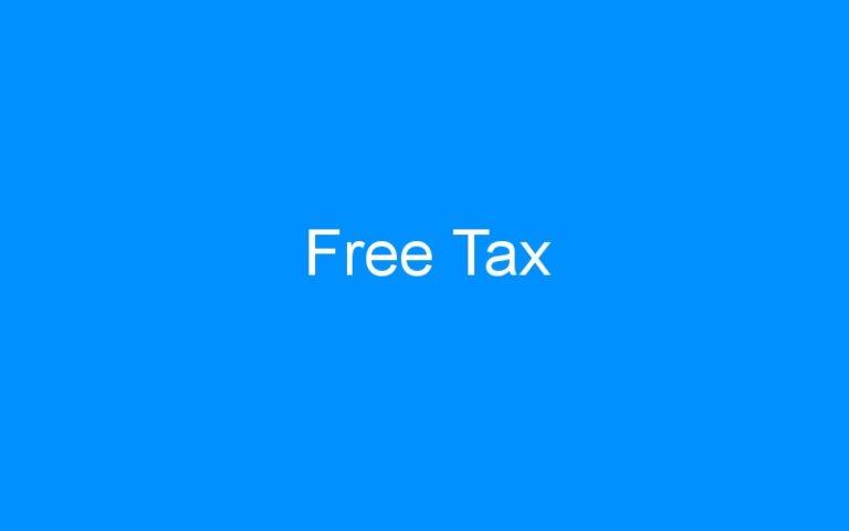 Free Tax