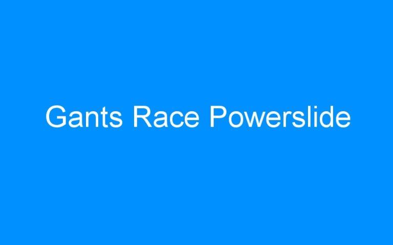Gants Race Powerslide