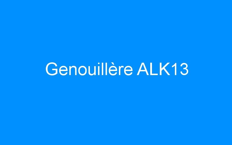 Genouillère ALK13